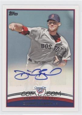 2012 Topps Opening Day Autographs #ODA-DB - Daniel Bard