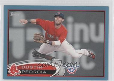 2012 Topps Opening Day Blue #172 - Dustin Pedroia /2012