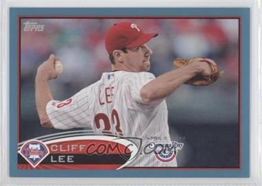 2012 Topps Opening Day Blue #183 - Cliff Lee /2012