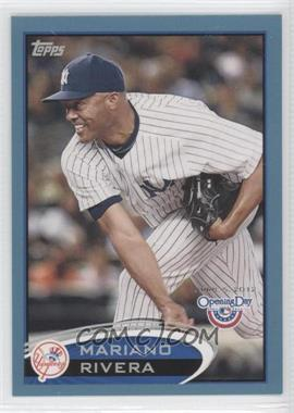 2012 Topps Opening Day Blue #189 - Mariano Rivera /2012