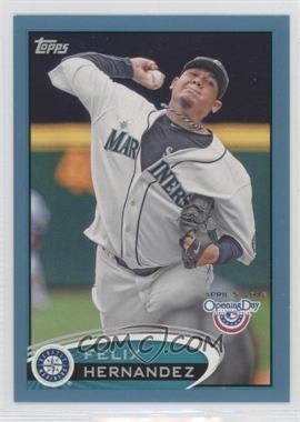 2012 Topps Opening Day Blue #199 - Felix Hernandez /2012