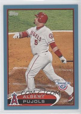 2012 Topps Opening Day Blue #200 - Albert Pujols /2012