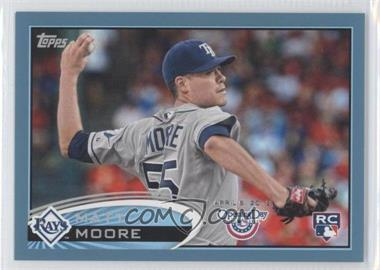 2012 Topps Opening Day Blue #21 - Matt Moore /2012