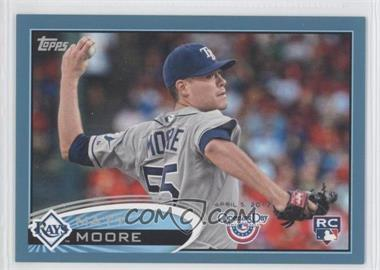 2012 Topps Opening Day Blue #21 - Matt Moore /2012