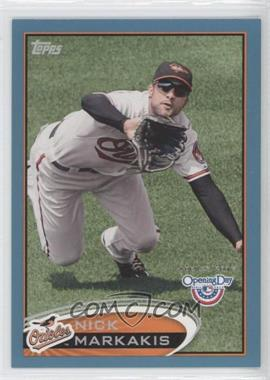 2012 Topps Opening Day Blue #33 - Nick Markakis /2012