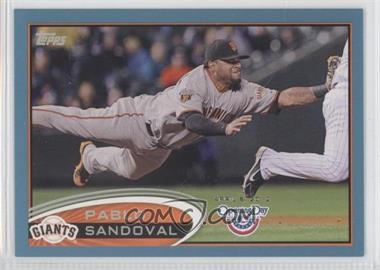 2012 Topps Opening Day Blue #63 - Pablo Sandoval /2012
