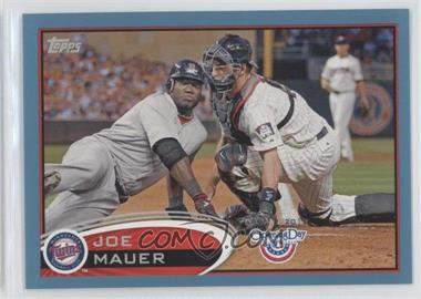 2012 Topps Opening Day Blue #80 - Joe Mauer /2012