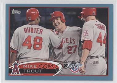 2012 Topps Opening Day Blue #85 - Mike Trout /2012