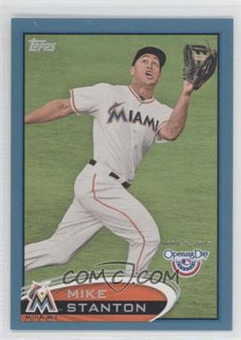 2012 Topps Opening Day Blue #92 - Giancarlo Stanton /2012