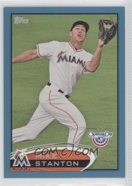 2012 Topps Opening Day Blue #92 - Mike Stanton /2012