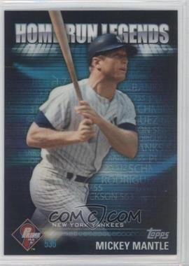 2012 Topps Prime 9 Home Run Legends #HRL-6 - Mickey Mantle