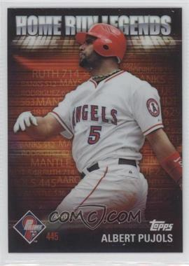 2012 Topps Prime 9 Home Run Legends #HRL-9 - Albert Pujols
