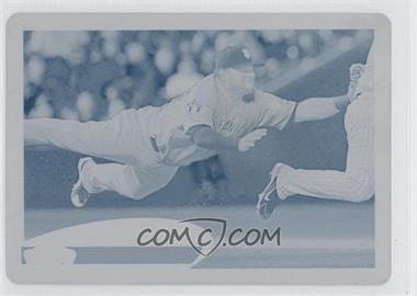 2012 Topps Printing Plate Cyan #185 - Pablo Sandoval /1