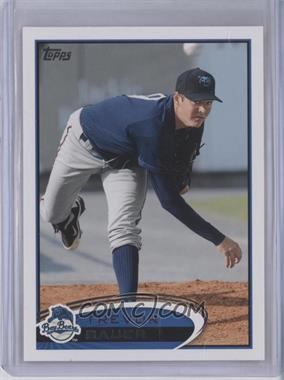 2012 Topps Pro Debut - [Base] #100.2 - Trevor Bauer (Ball in Air)