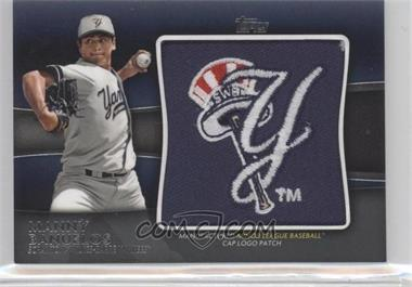 2012 Topps Pro Debut - Cap Logo Manufactured Patch #MLL-MB - Manny Banuelos