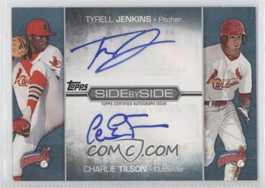 2012 Topps Pro Debut - Side by Side Dual Autographs #SSA-JT - Charlie Tilson, Tyrell Jenkins /50