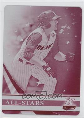 2012 Topps Pro Debut All-Stars Printing Plate Magenta #AS-TTH - Trayce Thompson /1