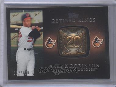 2012 Topps Retired Rings #RR-FR - Frank Robinson /736