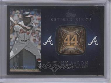 2012 Topps Retired Rings #RR-HA - Hank Aaron /736