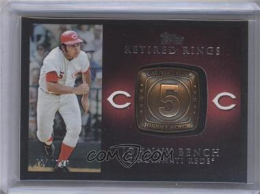 2012 Topps Retired Rings #RR-JB - Johnny Bench /736
