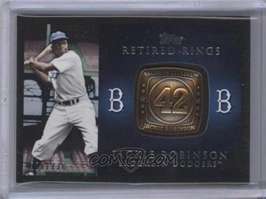 2012 Topps Retired Rings #RR-JR - Jackie Robinson /736
