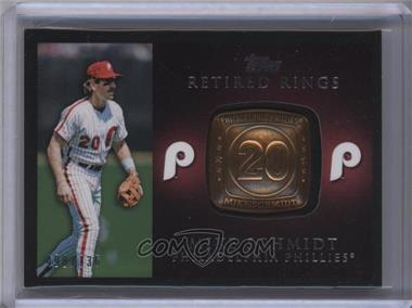 2012 Topps Retired Rings #RR-MS - Mike Schmidt /736
