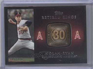 2012 Topps Retired Rings #RR-NRY - Nolan Ryan /736
