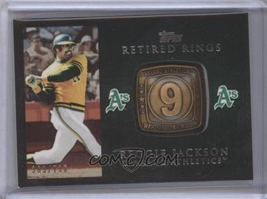 2012 Topps Retired Rings #RR-RJ - Reggie Jackson /736