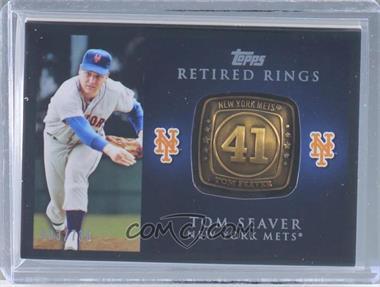 2012 Topps Retired Rings #RR-TS - Tom Seaver /736