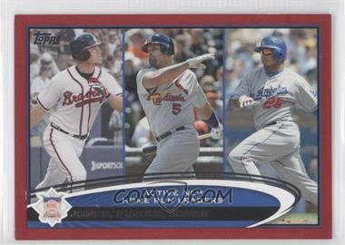 2012 Topps Target [Base] Red Border #192 - Albert Pujols, Andruw Jones