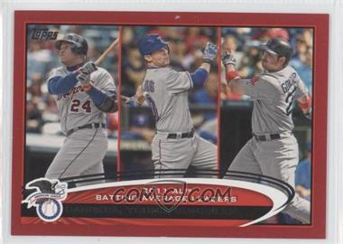 2012 Topps Target Red Border #239 - Michael Young, Adrian Gonzalez