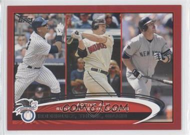 2012 Topps Target Red Border #324 - Jim Thome, Jason Giambi