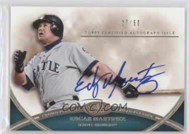 2012 Topps Tier One - Crowd-Pleaser Autographs - [Autographed] #CPA-EM - Edgar Martinez /50