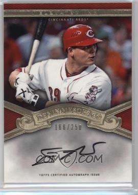 2012 Topps Tier One - Elevated Ink - [Autographed] #EI-DM - Devin Mesoraco /250