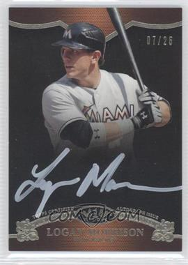 2012 Topps Tier One - On the Rise Autograph - White Ink [Autographed] #OR-LM - Logan Morrison /25