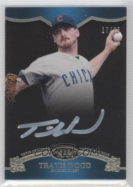 2012 Topps Tier One - On the Rise Autograph - White Ink [Autographed] #OR-TW - Travis Wood /25