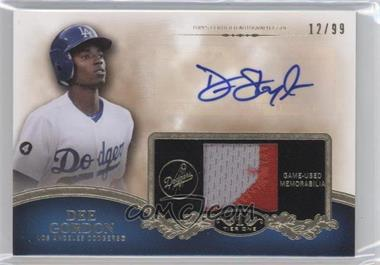 2012 Topps Tier One - Top Shelf Autographed Relics - [Autographed] #TSAR-DG - Dee Gordon /99