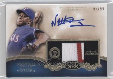 2012 Topps Tier One - Top Shelf Autographed Relics - [Autographed] #TSAR-NF - Neftali Feliz /99