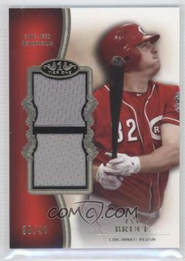2012 Topps Tier One - Top Shelf Relics - Dual #TSDR-JBR - Jay Bruce /50