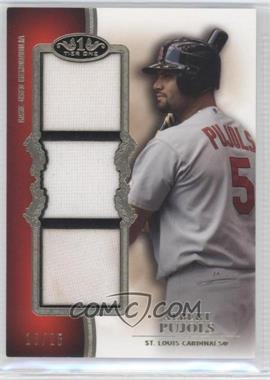 2012 Topps Tier One - Top Shelf Relics - Triple #TSTR-AP - Albert Pujols /25