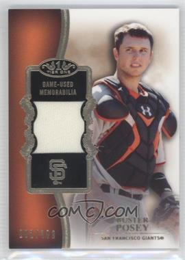 2012 Topps Tier One - Top Shelf Relics #TSR-BP - Buster Posey /399