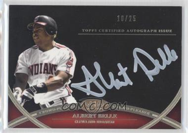 2012 Topps Tier One Crowd-Pleaser Autographs White Ink [Autographed] #CPA-AB - Albert Belle /25