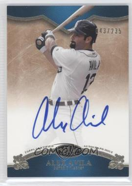 2012 Topps Tier One On the Rise Autograph [Autographed] #OR-AA - Alex Avila /235