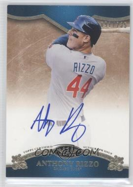 2012 Topps Tier One On the Rise Autograph [Autographed] #OR-ARI - Anthony Rizzo /235