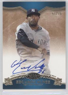 2012 Topps Tier One On the Rise Autograph [Autographed] #OR-EN - Eduardo Nunez /75