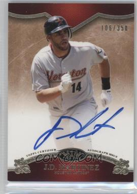 2012 Topps Tier One On the Rise Autograph [Autographed] #OR-JDM - J.D. Martinez /350