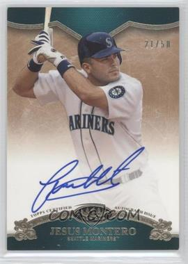 2012 Topps Tier One On the Rise Autograph [Autographed] #OR-JMO - Jesus Montero /50