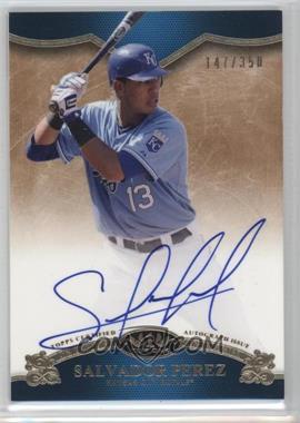 2012 Topps Tier One On the Rise Autograph [Autographed] #OR-SP - Salvador Perez /350
