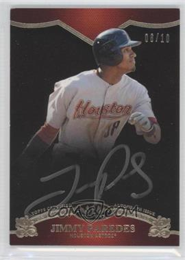 2012 Topps Tier One On the Rise Autograph Silver Ink [Autographed] #OR-JPR - Jimmy Paredes /10