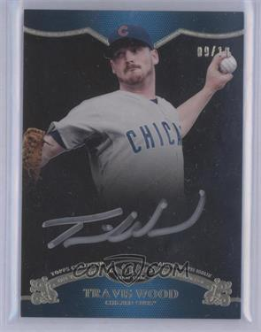 2012 Topps Tier One On the Rise Autograph Silver Ink [Autographed] #OR-TW - Travis Wood /10 [Near Mint‑Mint]